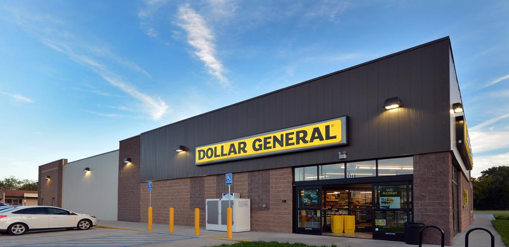 tenant credit rating THE THREE LARGEST DOLLAR STORE CHAINS, RANKED BY 2016 REVENUE, ARE: 1 2 3 DOLLAR GENERAL FAMILY DOLLAR DOLLAR TREE ABOUT THE STRONG DOLLAR GENERAL CREDIT RATING Dollar General is