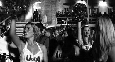 Homecoming celebrations are a UA tradition dating back to 1920 and possibly earlier. Only war caused the University to suspend Homecoming festivities in 1918 and from 1943-45.