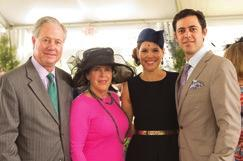 nearly 400 guests in stunning spring hats