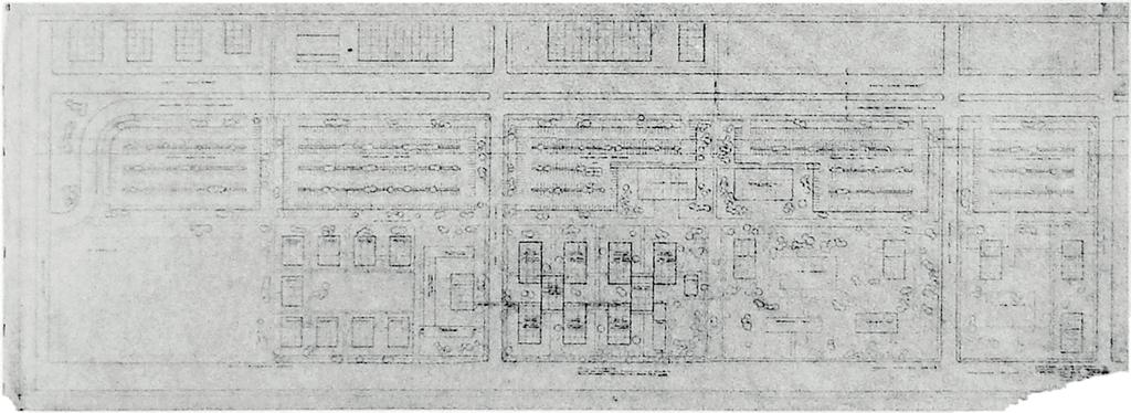 3 Mies and Hilberseimer's iit Campus Master Plan, in its original extension for the academic area (left), and Master Plan for residential expansion beyond State St. (right), c.1951.