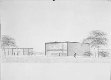 Whether if Mies could not find approved his Master Plan extension for the residential area of the campus, he was nonetheless commissioned several significant buildings by iit Trustees, aware of the