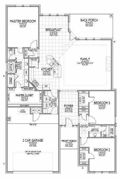 THE FABIANA Builders Choice Elevation A Elevation B 3
