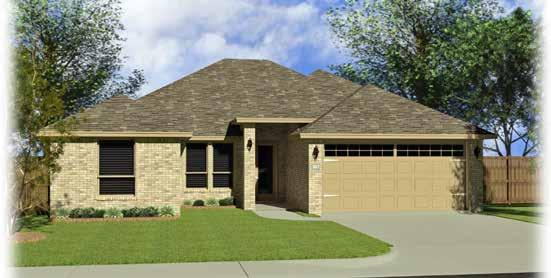THE FRANCESCA Elevation A Elevation B 4 Bedroom, 2 bathroom *SqFt