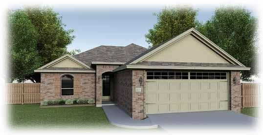 THE ISABELLA Elevation A Elevation B 3 Bedroom, 2 bathroom *SqFt