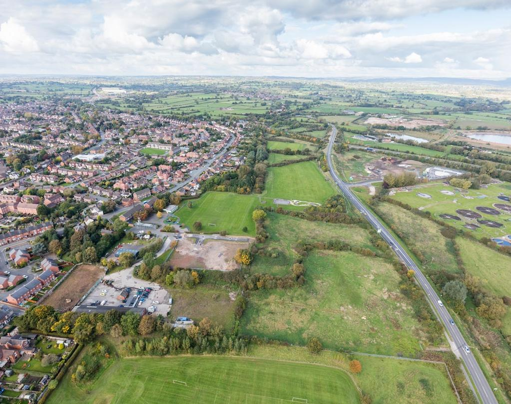 For Sale - Commercial and Residential Land Dove Way and Pennycroft Lane, Uttoxeter, Staffordshire Acting on Behalf of East Staffordshire Borough Council Summary Dove Way, Uttoxeter - Commercial