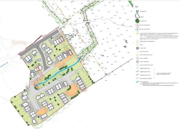 Indicative red line plan of the sale site Pennycroft Lane, Uttoxeter, ST14 7BW Planning Application Reference P/2014/01663 All information regarding the site including an information pack is