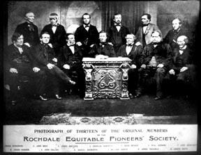 Rochdale Principles (1844) of Cooperation Open and voluntary membership (equality of sexes) Democratic control Economic participation by members Net savings
