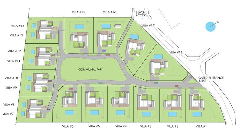 Community Features & Amenities 14 Home-sites Designed for a Combination of Single Family or Semi-Detached Villas