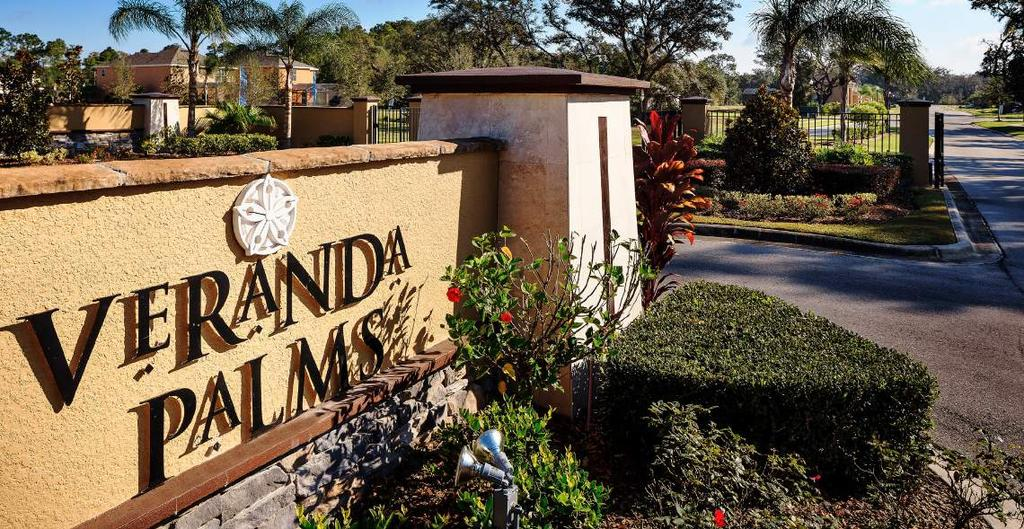 HOA Veranda Palms Resort HOMEOWNERS ASSOCIATION MODEL HOA DUES (Annually) HOA DUES (Quarterly) HOA DUES (Monthly) SINGLE FAMILY $2,260 $565 $188 AMENITIES AND LIFESTYLE GATED ENTRANCE RECREATIONAL
