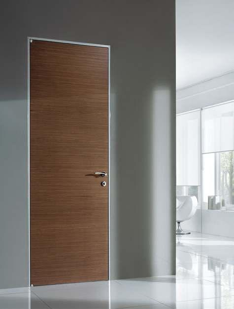Minimal chic and refined, grey durmast gives to Barausse doors a