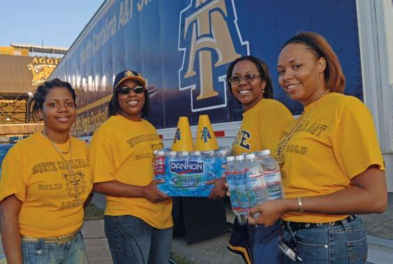 10 NC A&T Chancellor s Report 2005-2006 NC A&T Chancellor s Report 2005-2006 11 Individuals * Deceased North Carolina A&T Aggies helped victims of Hurricane Katrina through a relief effort called