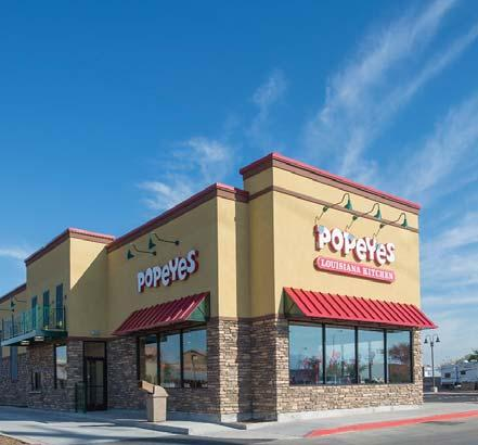 INVESTMENT OVERVIEW POPEYES LOUISIANA KITCHEN 5 INVESTMENT SUMMARY CBRE has exclusively listed this single tenant Popeyes Louisiana Kitchen located at 3510 West Baseline Road in Phoenix, Arizona.