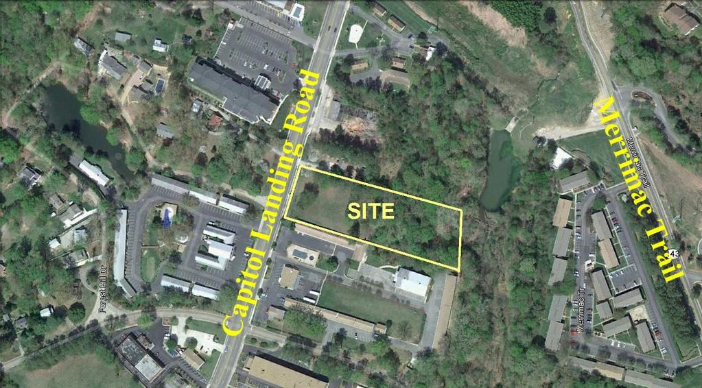 For Sale 904 Capitol Landing Road Williamsburg, Virginia FOR ADDITIONAL INFORMATION, PLEASE CONTACT: Campana Waltz Commercial Real Estate, LLC Ron A. Campana, Jr.