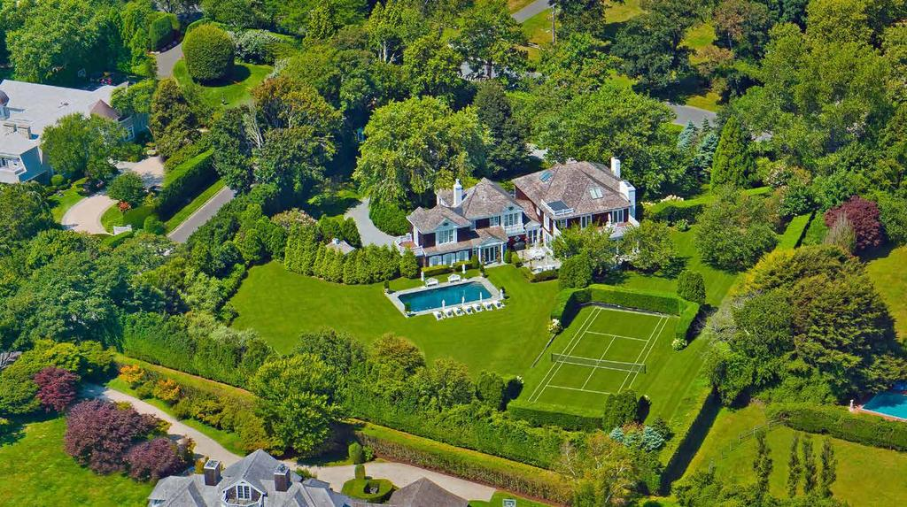 Set on a private road in the coveted Southampton Murray Compound, sits this 8,000 SF+/- traditional home on two manicured acres with deeded ocean access.