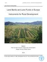 Instruments and Information Tools to Assist Land Structure Reforms: the Galician Experience Prague 2010 -