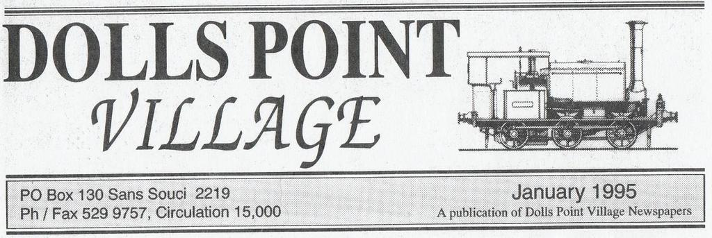 This small local monthly newspaper was produced between 1994-1995. It contained stories of local history, current events and advertisements.