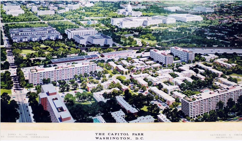 1. The historic, cultural or architectural significance of the site. Capitol Park Towers was originally part of Capitol Park, a 3.