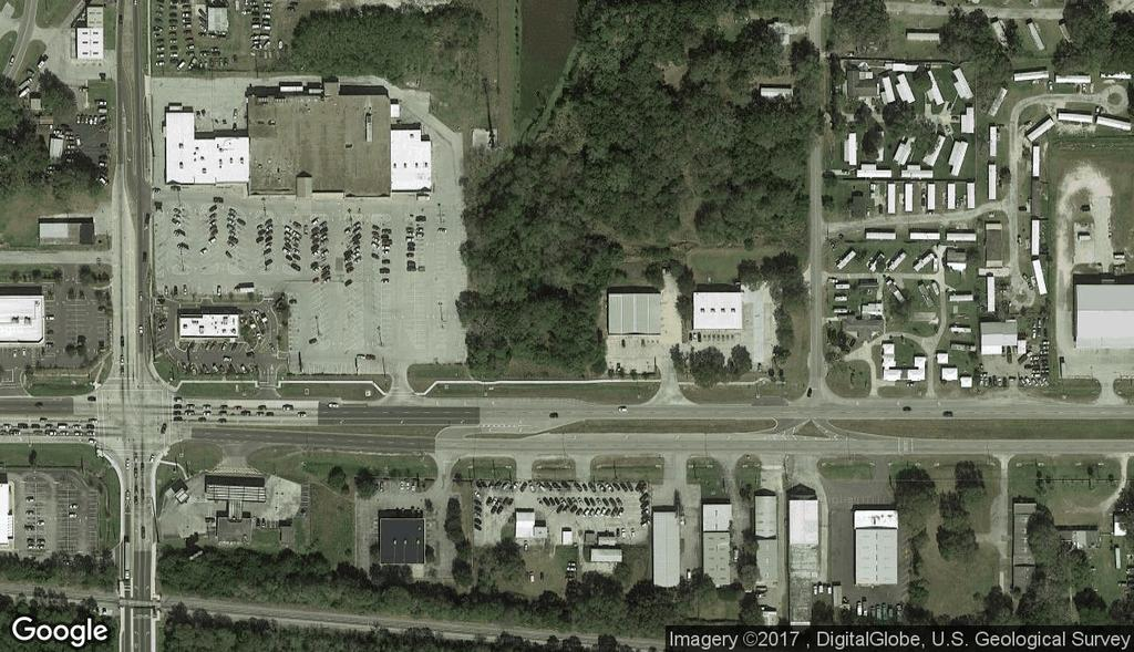 Aerial Map Lakeland Highway 92 4.4 Acre Commercial Tract LAKELAND HIGHWAY 92 4.