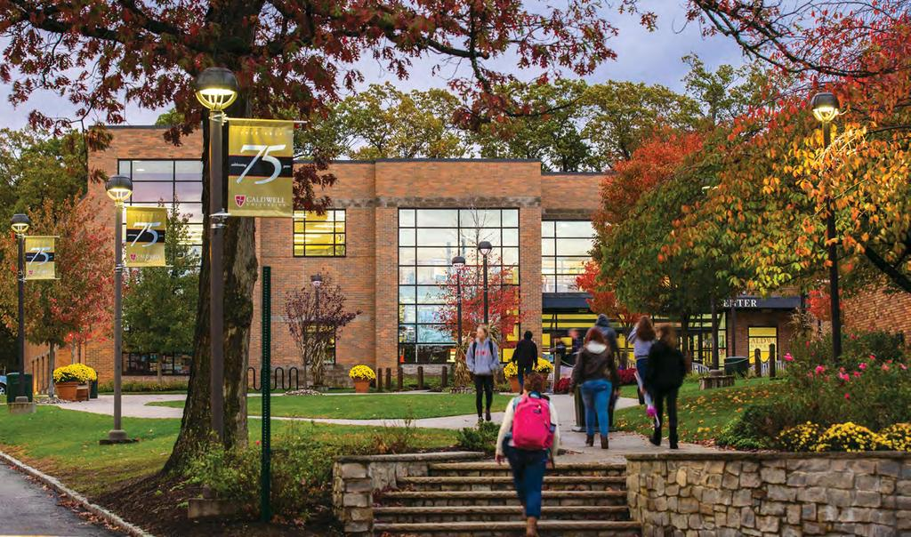 ABOUT CALDWELL UNIVERSITY Caldwell University is a vibrant institution that provides its students with an excellent liberal arts and professional studies education.