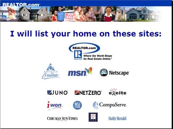 these sites so no matter what the person is looking for in your area, they will see your listing first! You will get anywhere from 2000 4000 additional people looking at your home.