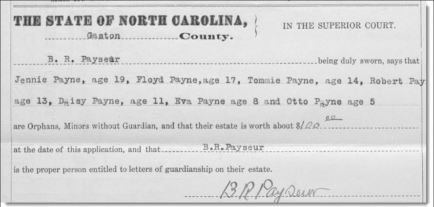 Guardianship Records for