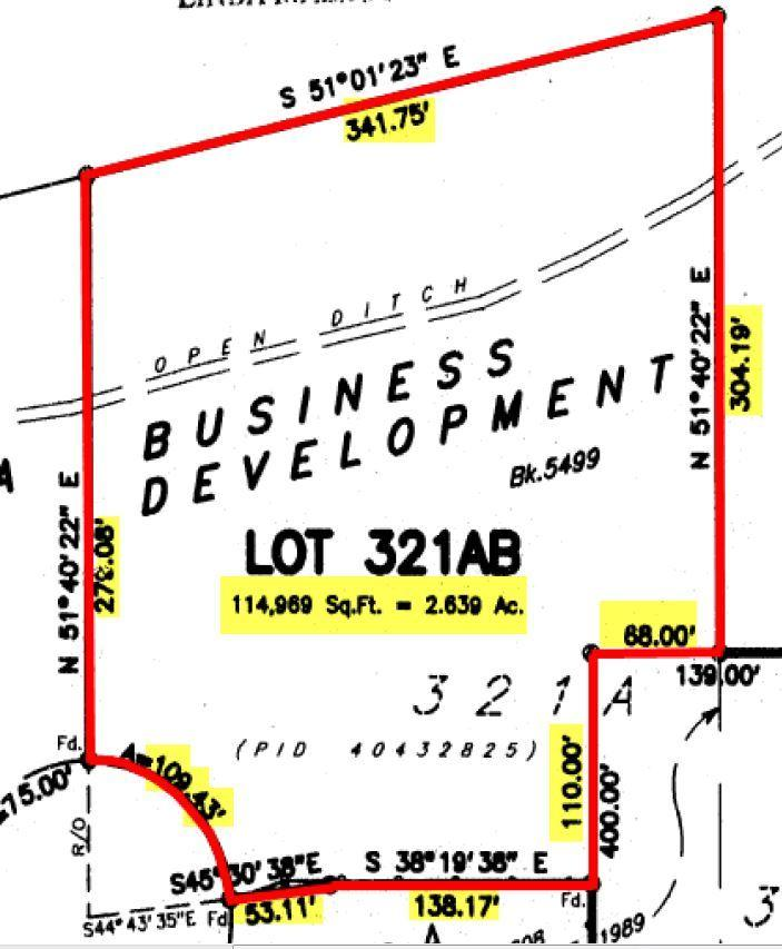 SITE SPECIFICATIONS Civic Address: 48 Ragus Road Dartmouth, NS B2Y 4R6 PID #: 40432825 Lot Size: Site Dimensions: 2.64 Acres Ragus Road cul-de-sac 109.43 feet Northwest Boundary 279.