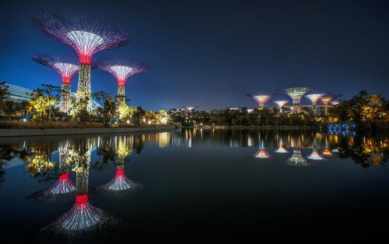 Gardens-by-the Bay by Atelier One, Meinhardt and Woh Hup Award for Buildings went to 137 Market Street by Web Structures Award