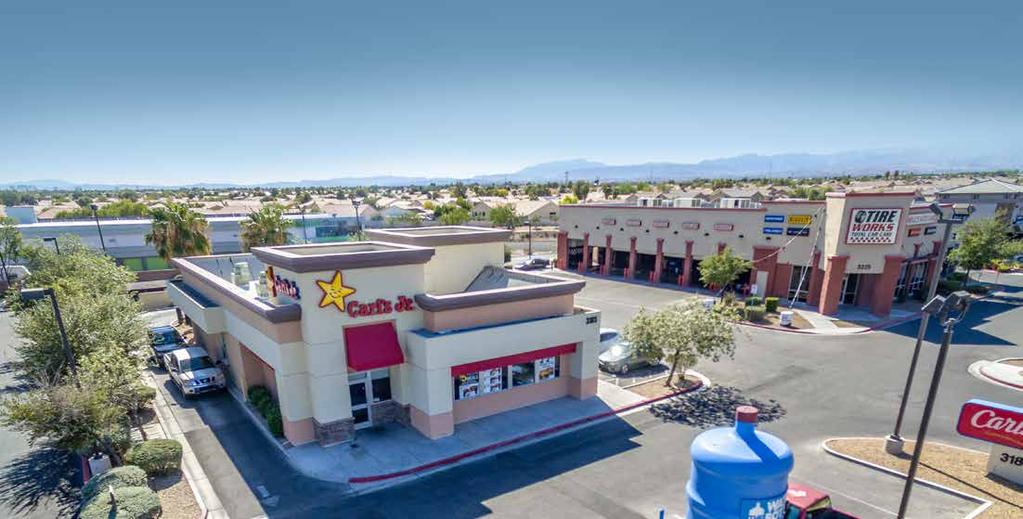 Overview Marcus & Millichap is pleased to present for sale a Carl s Jr with a drive-thru, adjacent to a Walmart-anchored shopping center with multiple national credit tenants, including Dollar Tree,