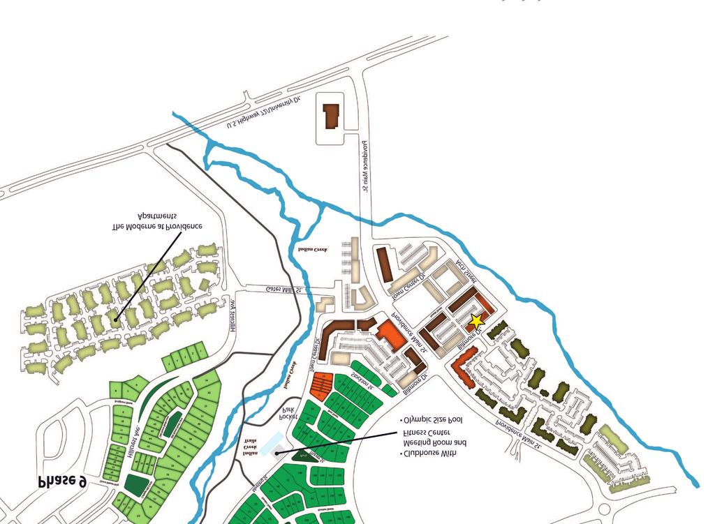 Live Work Town Center Townhomes Site Plan