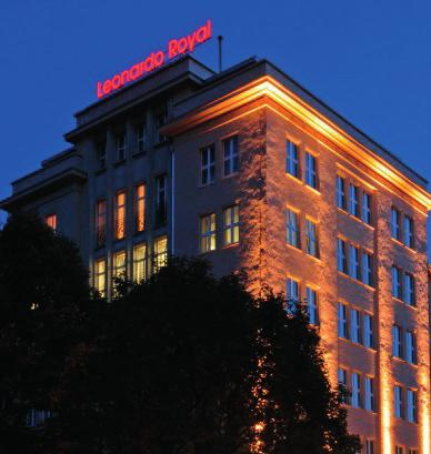 The event will take you to interesting sites of Berlin s history Leonardo Royal Hotel Berlin Alexanderplatz Royal Berlin, which is listed as a historical monument, features many art déco elements
