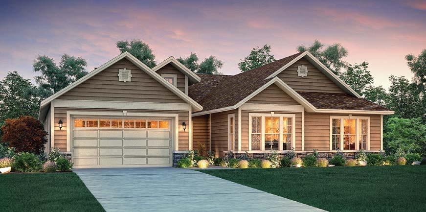 This single-story Shadow Ridge home features 3 bedrooms, den, 2.