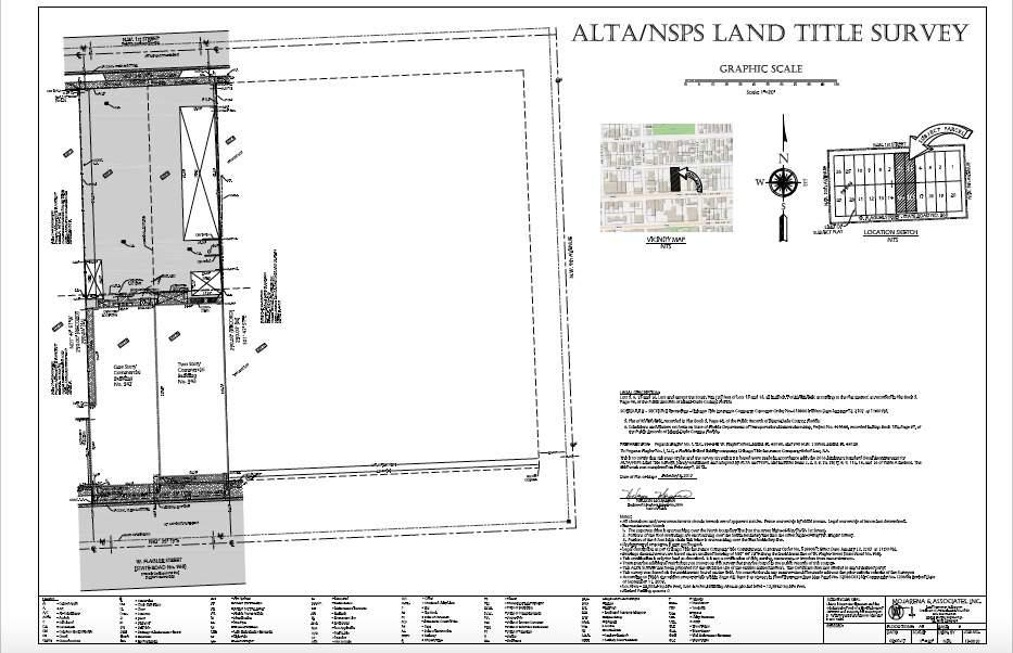SITE PLAN 943 W FLAGLER APEX CAPITAL REALTY 1356 SW