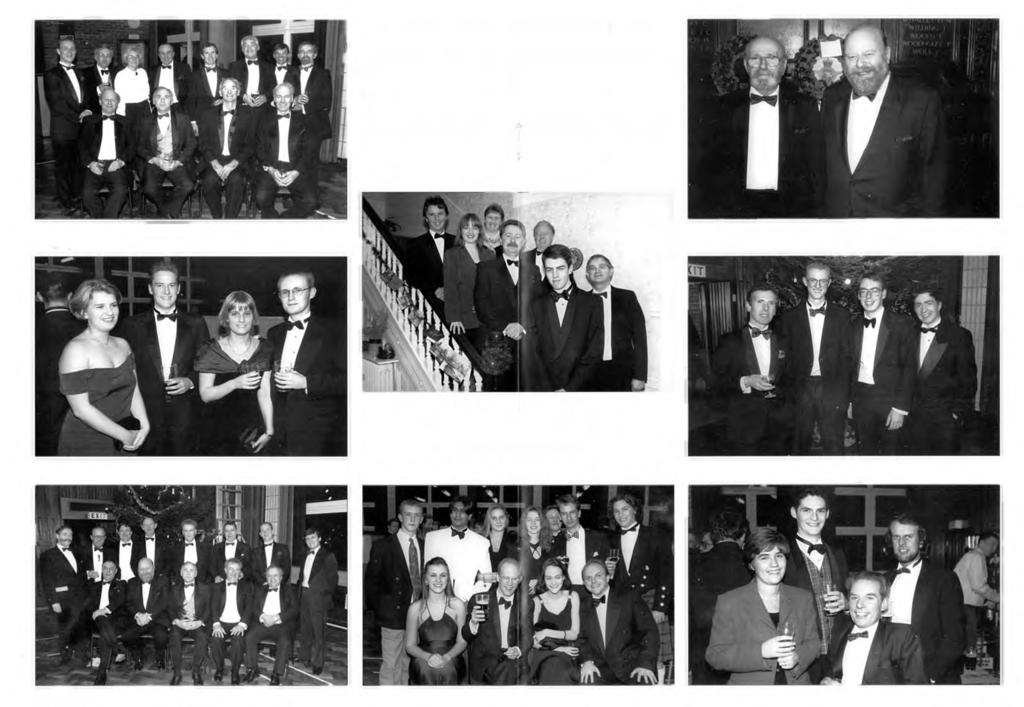 1 9 9 5 A n n u a l D i n n e r The 1995 Annual Dinner was held on Saturday 16th December in Big School.