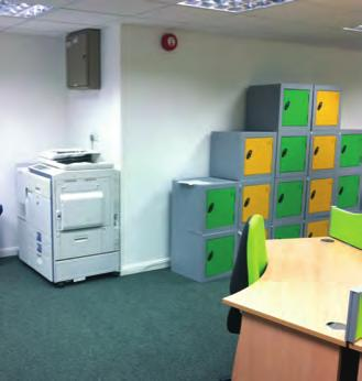 Letting of space in the Hub is going well, with the three offices let in advance of the