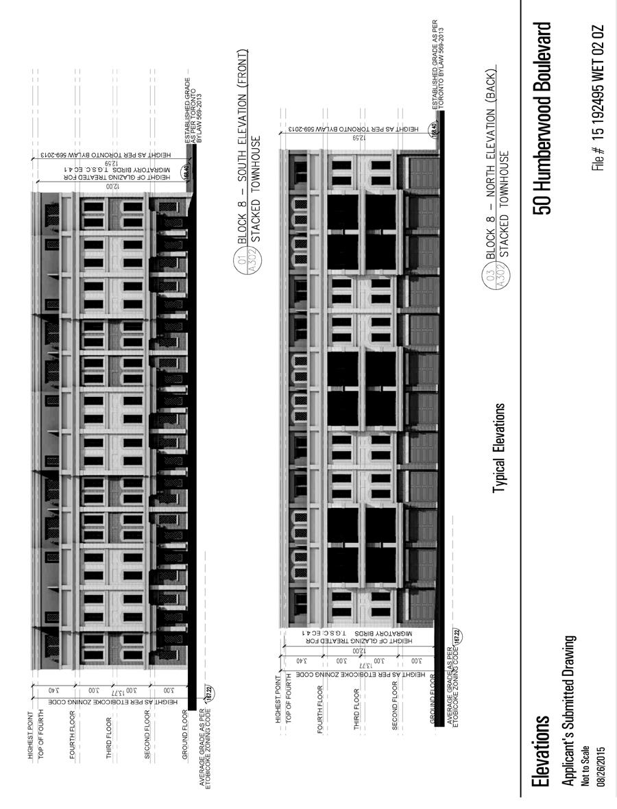 Attachment 2c: Elevations (Multilevel Townhouses) Staff