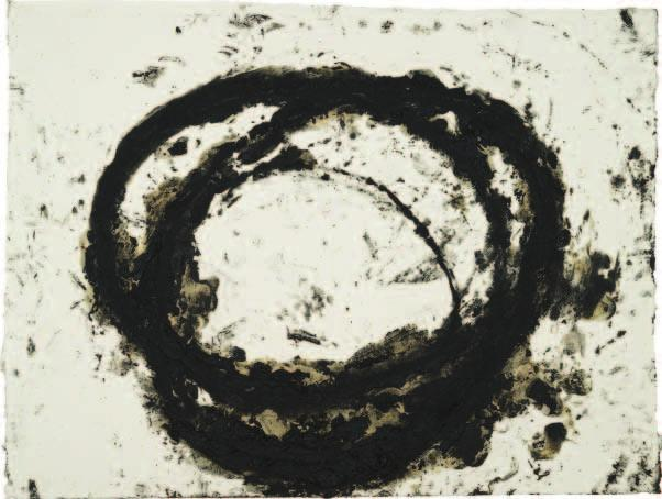 Richard Serra (American, b. 1939). Khora, 2000; melted paintstick; 78 x 102.4 cm; Delia E. Holden Fund 2002.96 Drawings William Bailey (American, b. 1930). Untitled (Still Life), 2000; graphite; 33.