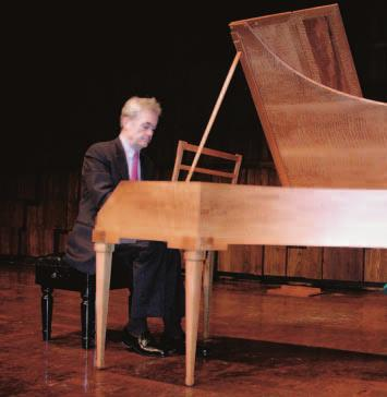 Karel Paukert playing the Viennese fortepiano by Philip Belt. Musical Arts Lectures Ross Duffin, Rebecca Fischer, Stephen E. Hefling, Steven Plank, Richard Rodda.