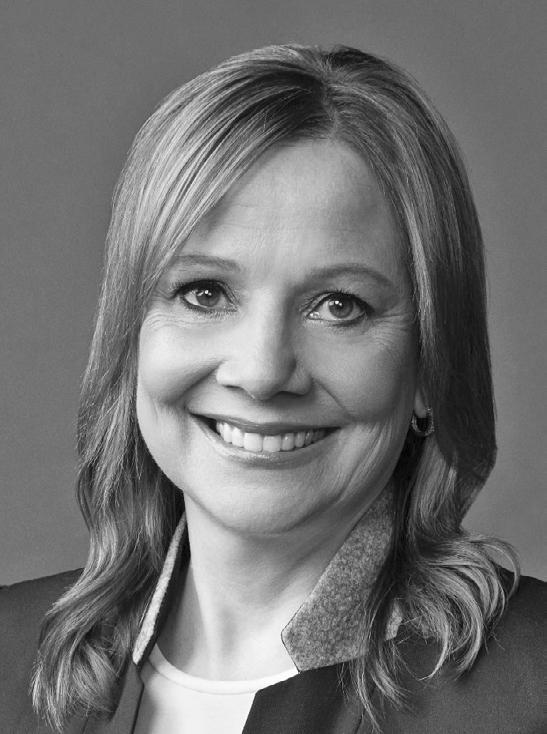 5 Honorary Degree Recipient Mary Teresa Barra DOCTOR OF SCIENCE Faculty Sponsor: William F. Boulding Mary Barra is chairman and chief executive officer of General Motors Company.