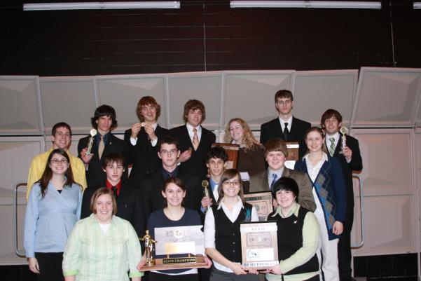 DEBATE AND INDIVIDUAL EVENTS Schools participating in the Debate and Individual Events program are divided into two classes. Class AA represents the SDHSAA member schools with an A.D. M.