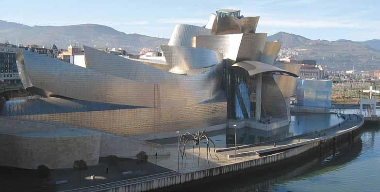 Arguably, Gehry s Guggenheim Museum not only put Bilbao on the map, it was also a striking icon for the emerging power of digital technology and coincidentally spawned the Starchitect genre, about