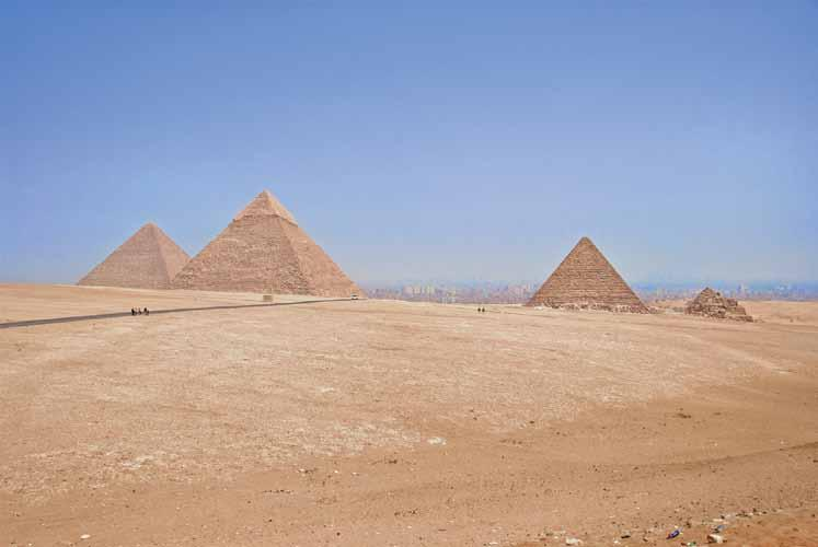 Architects as Inspiration The Great Pyramids of Egypt, Cairo, Egypt