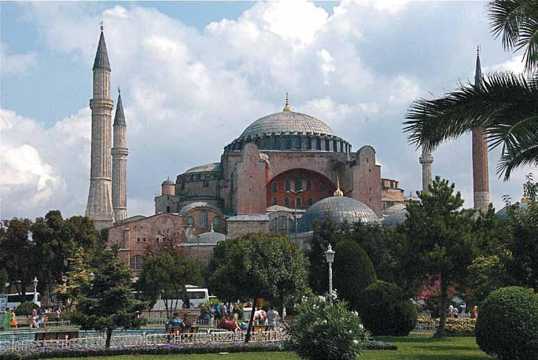 exterior, Istanbul, Turkey Commissioned by Emperor Justinian 537 AD
