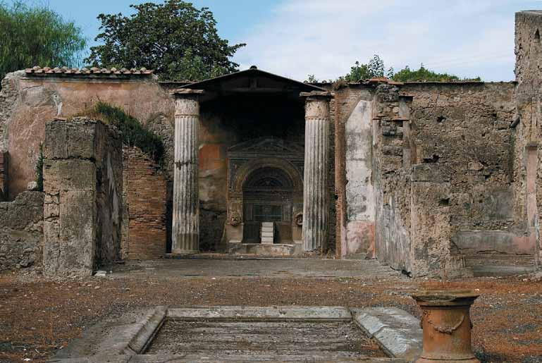 Architects as Evolutionary Ruins of Pompei - Western