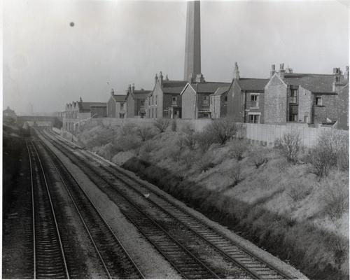 Fig. 15: 1972 photo of the railway with the