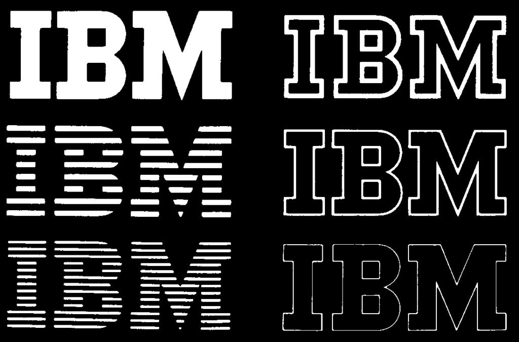 418 Chapter 20: Corporate Identity and Visual Systems 20 15 20 16 20 17 20 18 20 19 20 15. Paul Rand, IBM trademark, 1956.