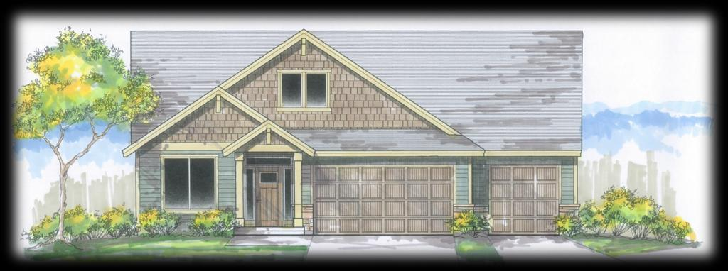 Elliott Disclaimer: Home Drawings are similar to and may not be exactly what exterior may look like. 1,858 SF 4 Bedroom / 2 Bath / 1,858 sq. ft.