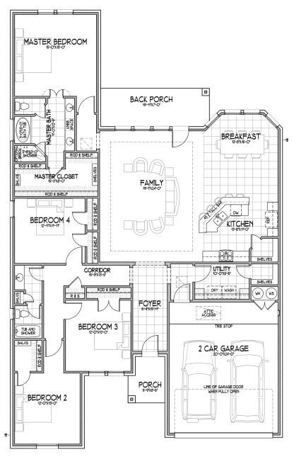 vary per elevation 2,526 Square Feet