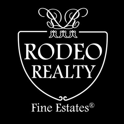 com CalBRE License #01313059 CalBRE #00951359 Rodeo Realty, Inc.