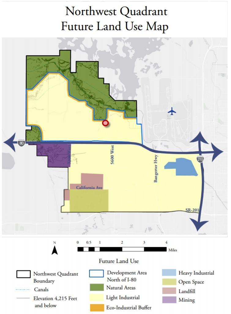 LC Lowland Conservancy Overlay District. Currently the boundary of the overlay district extends into this property affecting the north and northwest portions of the property.