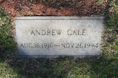 26, 1994 Andrew Gale was the son of